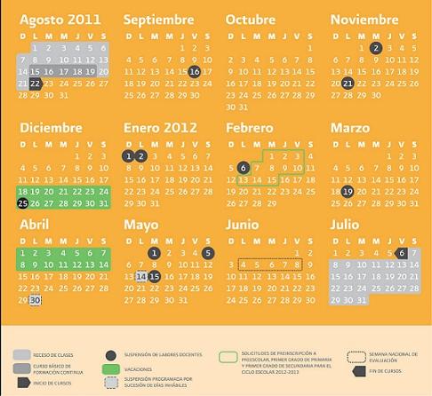 Ciclo Escolar 2011 2012