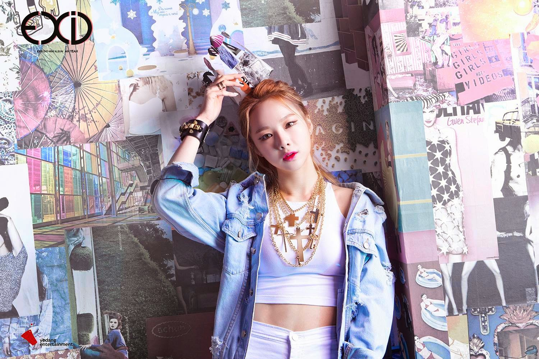 Solji Ah Yeah Concept