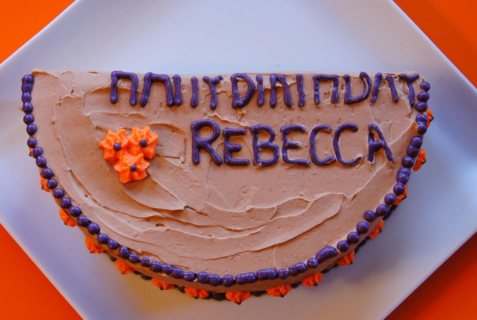 Headtones Half Birthday Cake