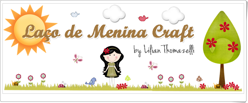 Laço de Menina Craft