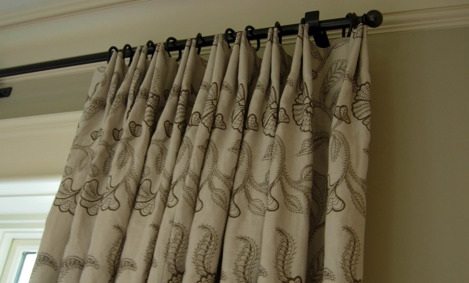 Inverted Pleat Curtains High Street Market Designer Tip
