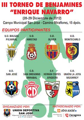 TORNEO DE NAVIDAD DE LA  UD SAN JOSÉ 2012 Torneo+Benjamines