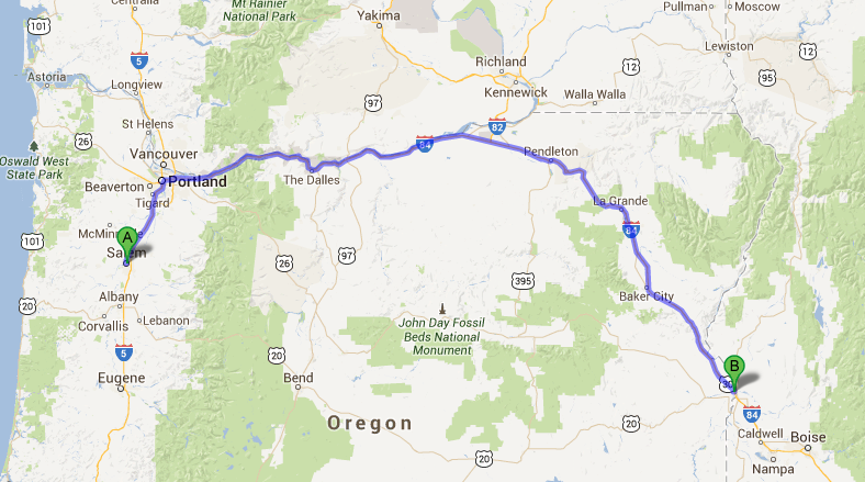 A Redleg 39 s Rides Uraling back to Colorado Day 62 Salem OR to Ontario