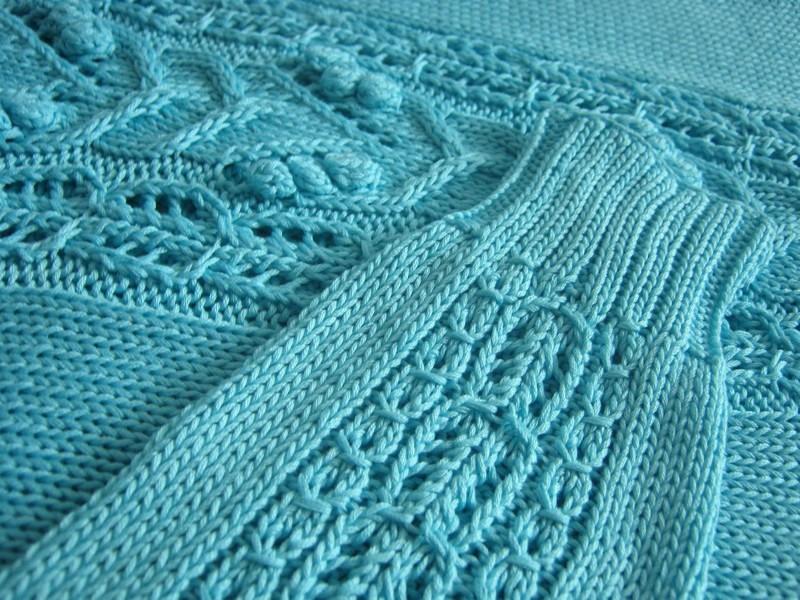 Вязание спицы круглая кокетка сверху