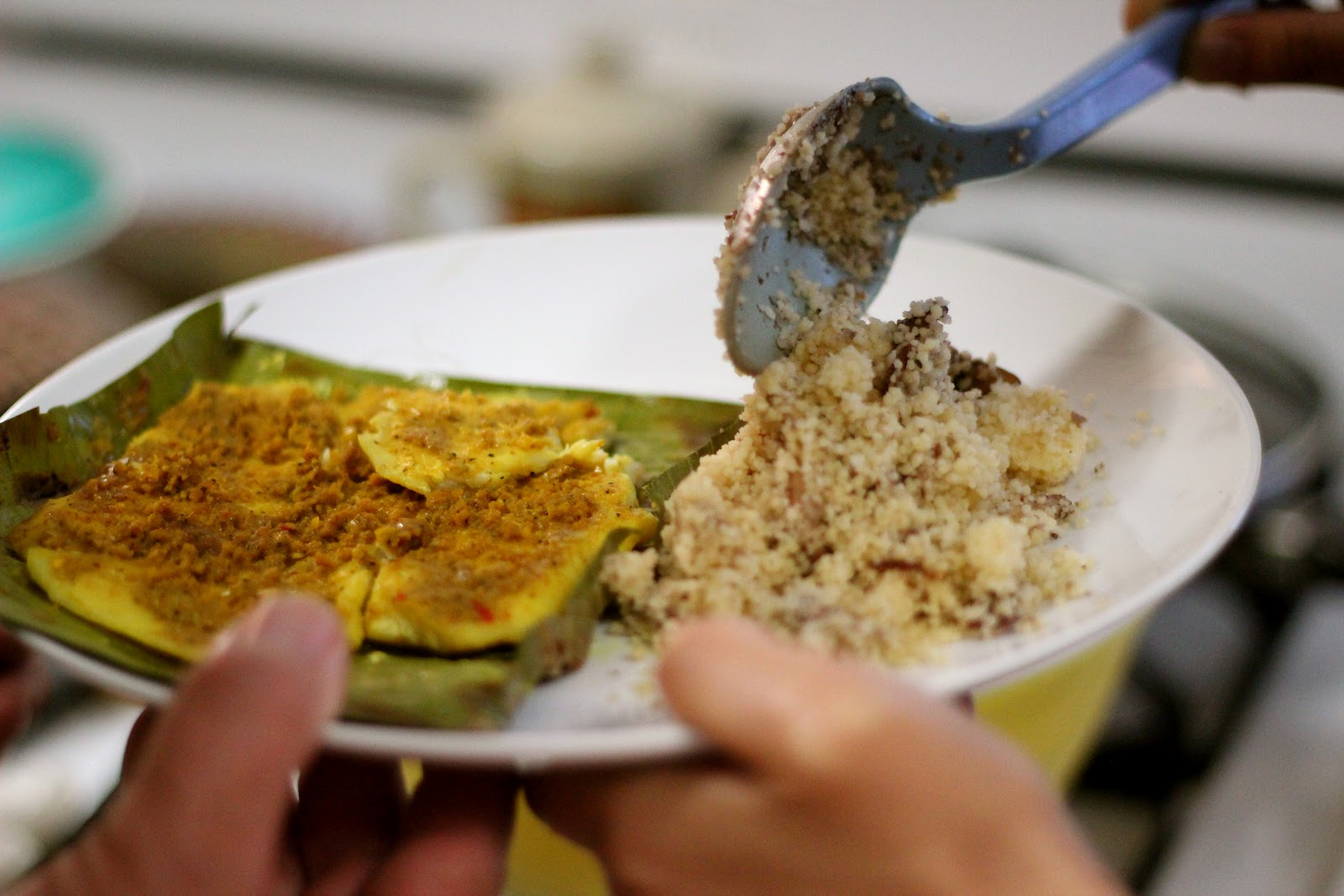 Food for Hunters: Malaysian Spiced Fish Grilled in Banana ...