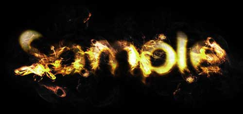 Design a Golden Flame Text Effect in Photoshop