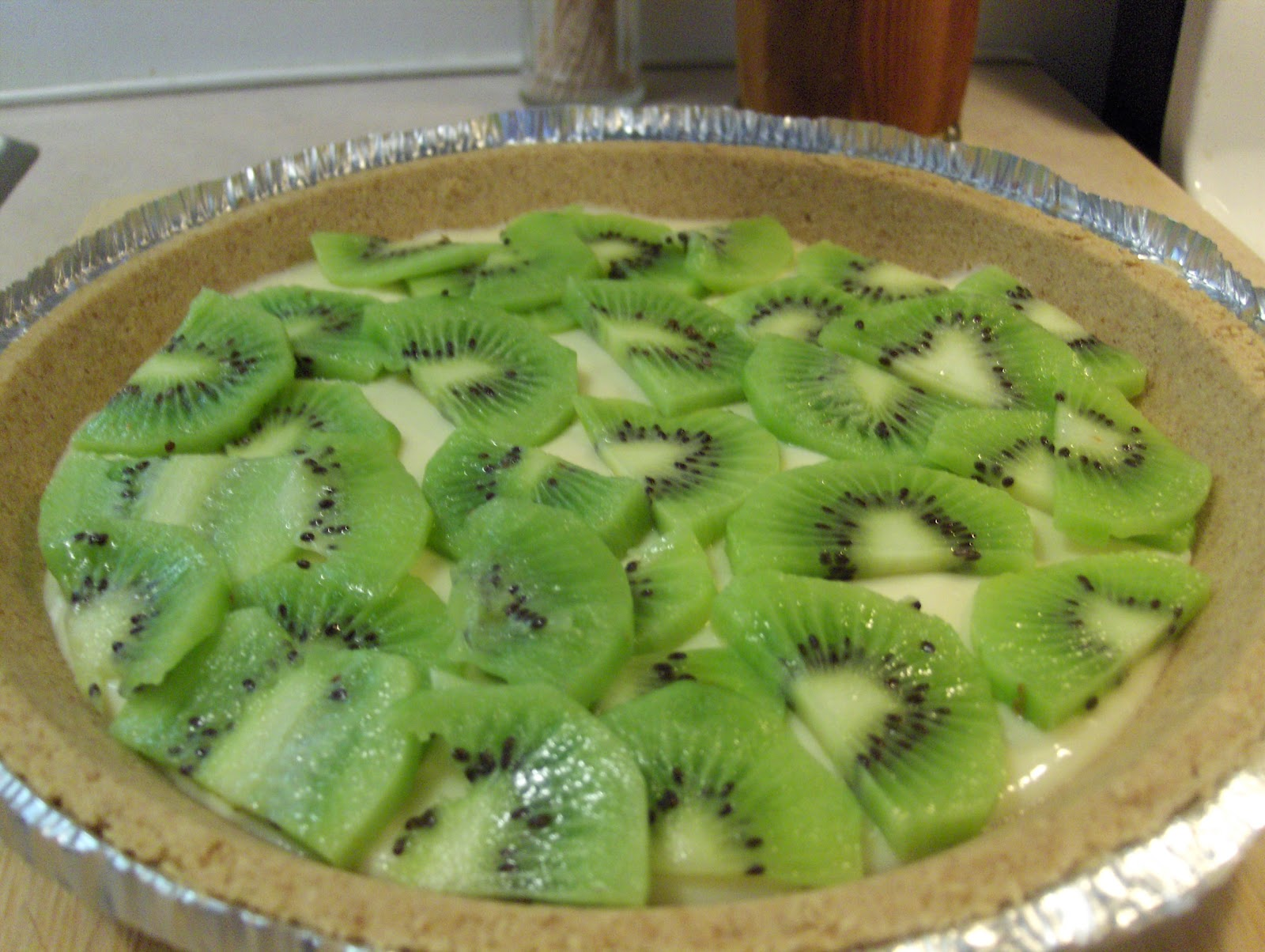 Diab2Cook: Kiwi - Lemon Cheesecake