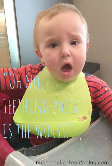 Teething pain relief ideas from Infants' Advil #TeethingTruths