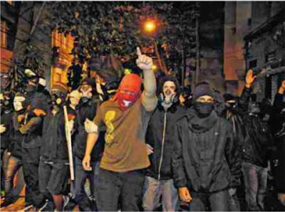 manifestantes bandidos pitacos de lua