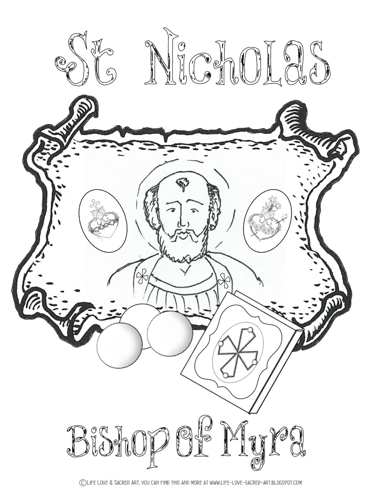 Help Bring You Great Giveaways And FREE Coloring Pages Holy Cards Little Prayer Bags Make Perfect St Nicholas Day Giftsencouraging
