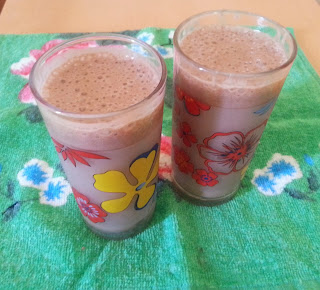 Chocolate Banana Smoothies