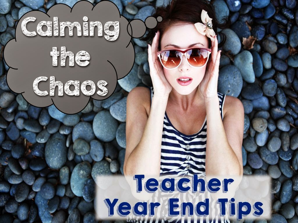 3 tips for keeping the classroom calm during the last few weeks of school.