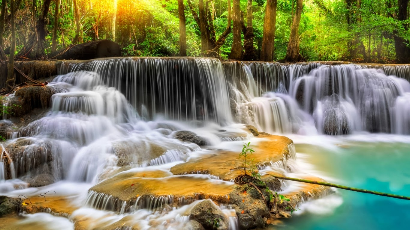 Hd wallpaper gallery - Hd Wallpaper Gallery Beautiful Waterfall In Thailand Wallpaper Images Hd Pictures Photos Gallery Free Download