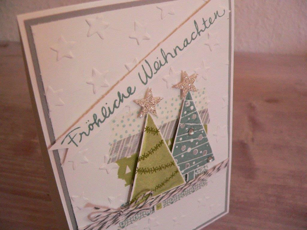 Weihnachten Karte basteln