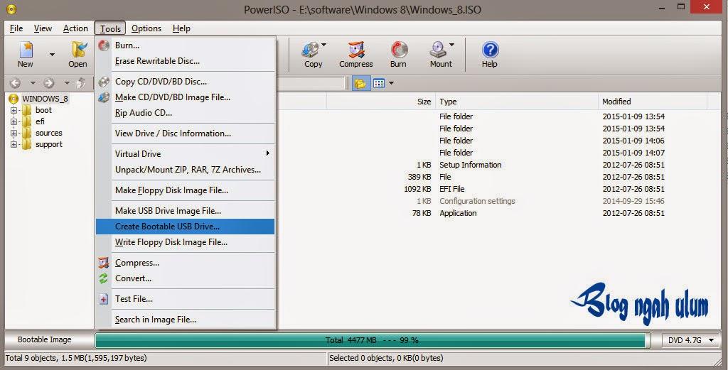Cara Paling Mudah Membuat Bootable Flashdisk Windows