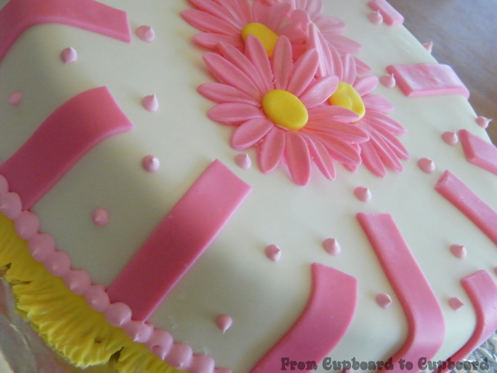 One Layer Birthday Cake Designs Birthday Cake Designs