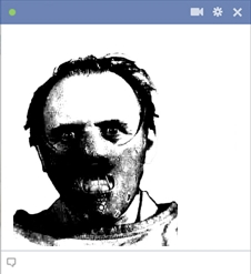 Hannibal Emoticon For Facebook