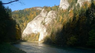 Przełom Dunajca jesienny
