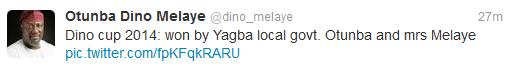 dino melaye twitter