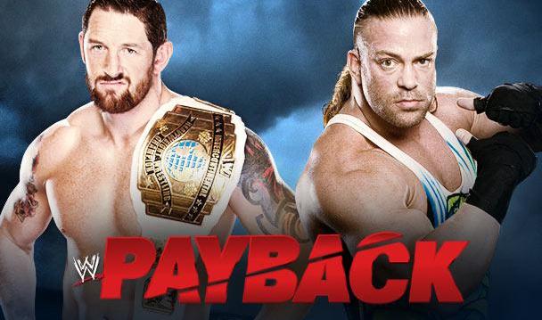 rob van dam lucha vs Bad News Barrett en el gran ppv de la WWE Payback