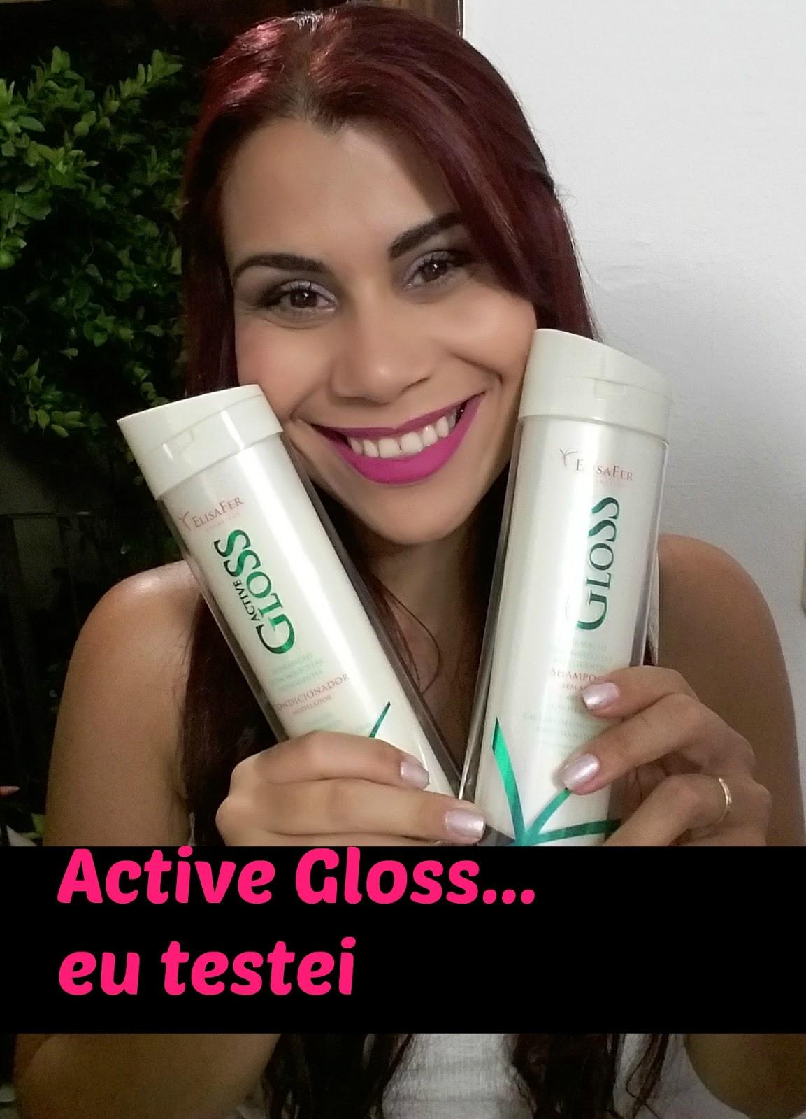 Active Gloss  cabelos cacheados resenha blog estilo modas e manias