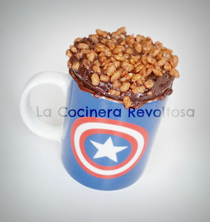 Mug Cake De Choco Krispies Sin Lactosa