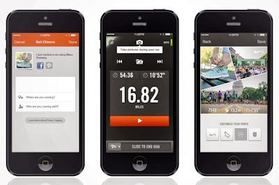 Nike+ Running App Update, Photo Sharing, auto pause, nike, nike running, running app, nike+