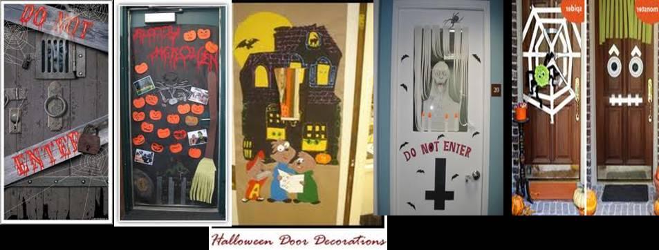 Decoration halloween porte de classe for Decoration porte classe