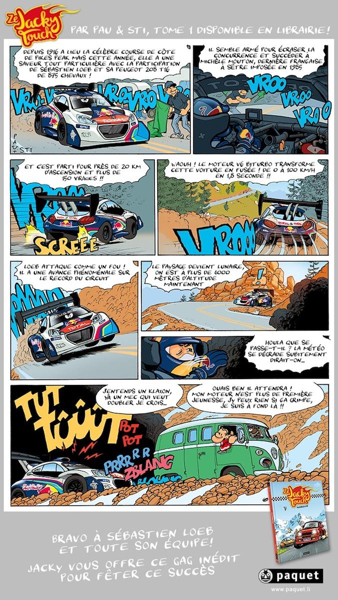 """Nouvelle BD Automobile """"Ze Jacky Touch"""" chez Paquet - Discussion générale"""