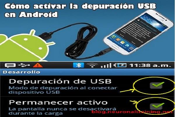 Depurar Aplicaciones Android en Dispositivo Físico