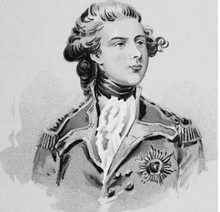 Jorge IV en su juventud