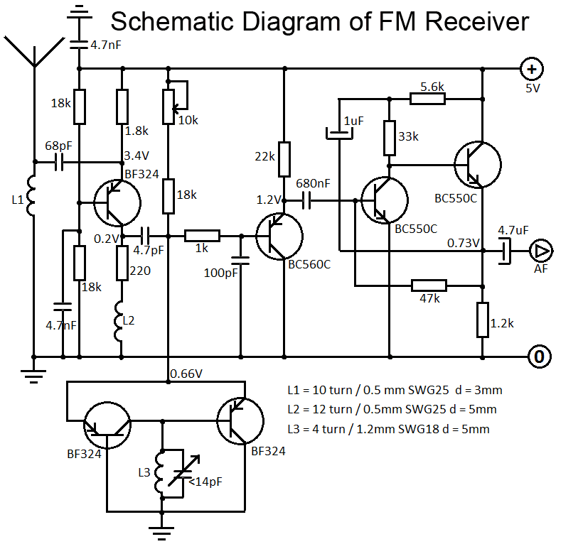 Schematic Diagram of FM Receiver what is schematic diagram (definition) circuitstune schematic diagrams at cos-gaming.co