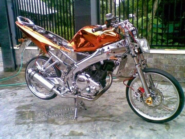 Yamaha Vixion Modif Velg Jari Jari