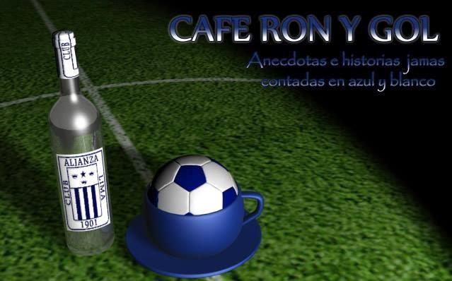 CAFÉ RON Y GOL