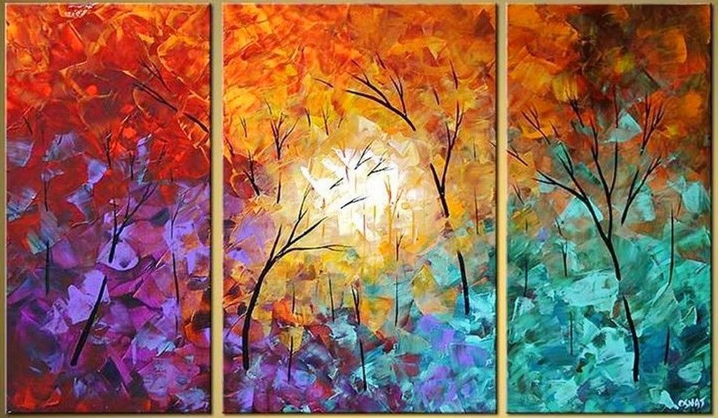 Cuadros tripticos flores acrilico car interior design - Bimago cuadros modernos ...