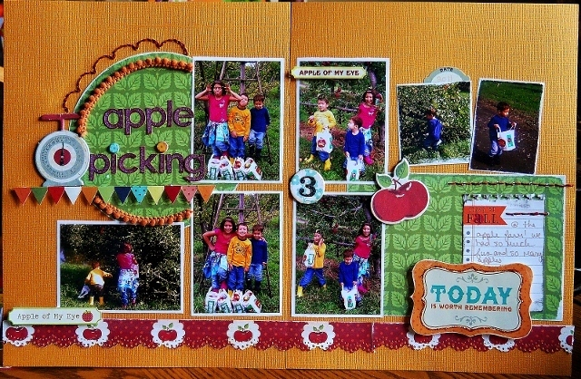 Scraptastic club home sweet home ii for Where can i go apple picking near me