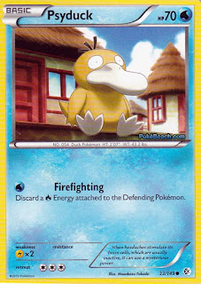 Psyduck Boundaries Crossed Pokemon Card