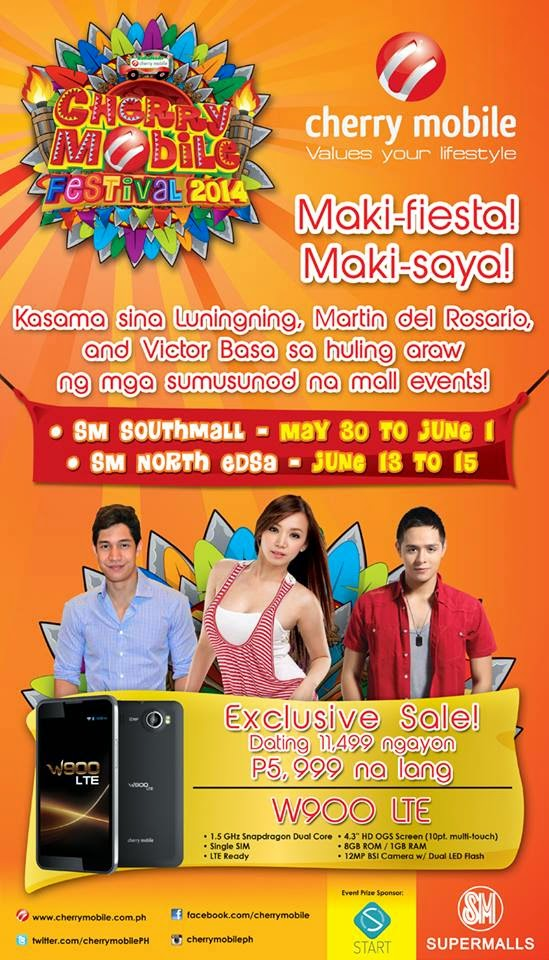 Maki-fiesta, maki-saya! Cherry Mobile Festival 2014 Exclusive Sale