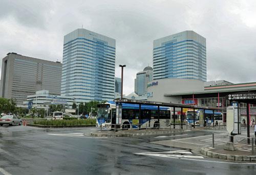 Kaihin-Makuhari Station, Chiba Prefecture.