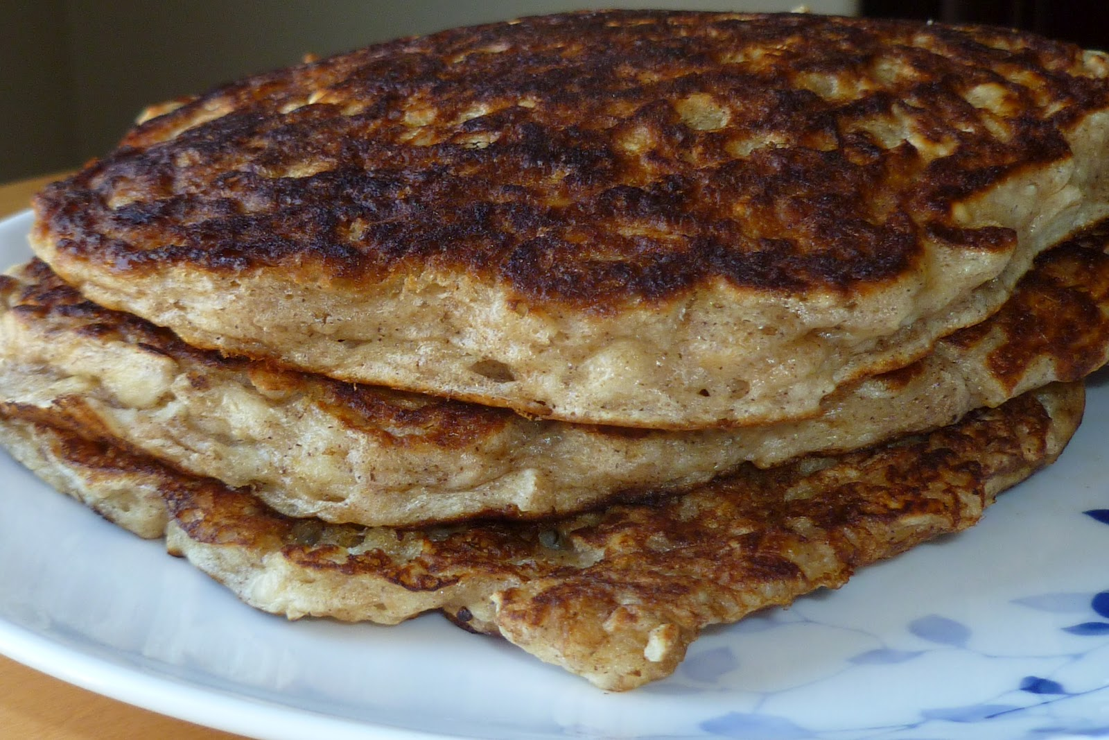 The Pastry Chef's Baking: Old-fashioned Oatmeal Pancakes
