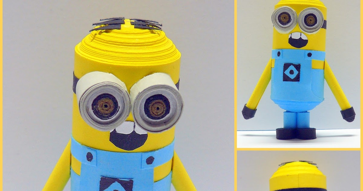 ecstatic over paper: Despicable Me Minions