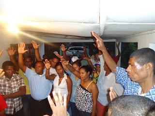 Perredeístas de Santo Domingo Norte pasan a las filas del BIS