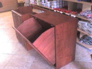 Fai da te hobby legno mobile da bagno - Mobile bagno con portabiancheria ...