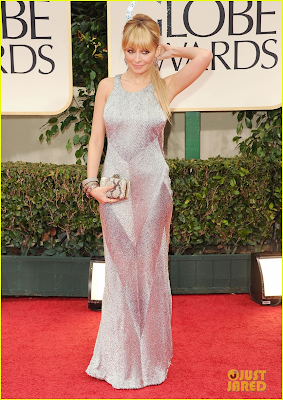 Nicole Richie - The Golden Globes