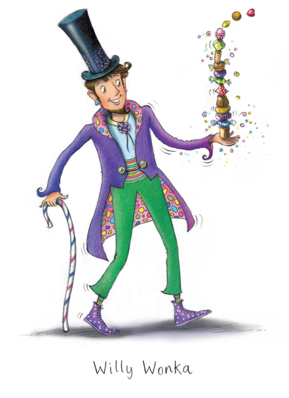 Mary's Illustration Blog: Charlie and the Chocolate Factory