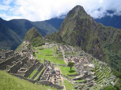 Visitando Machu Picchu Perú