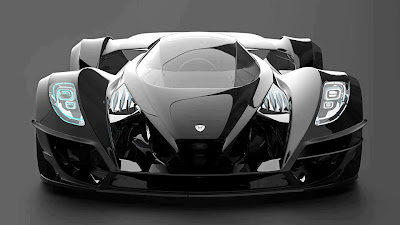 papel de parede carro preto