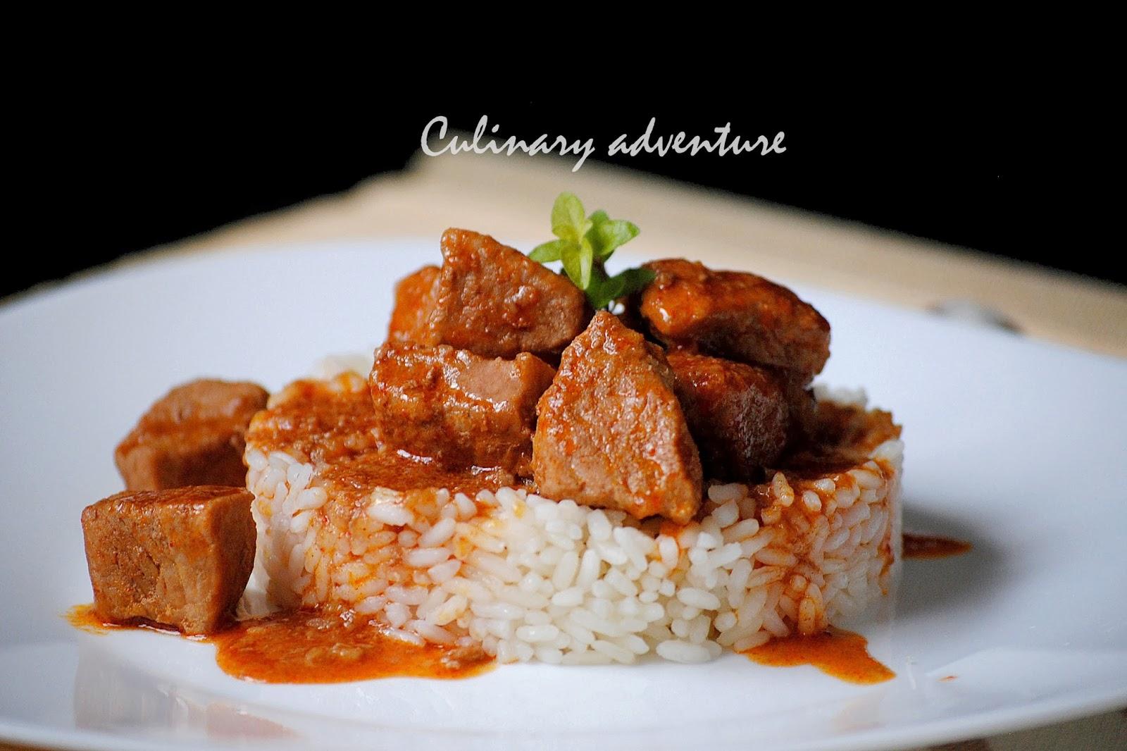 винен кебап /  bulgarian red wine stew (wine kebab)