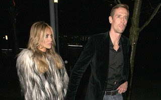 Abigail Clancy With Husband Peter Crouch