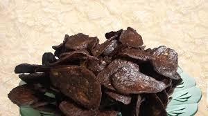 Keripik Pisang Lapis Coklat